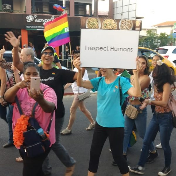 Alembo groep Pride walk
